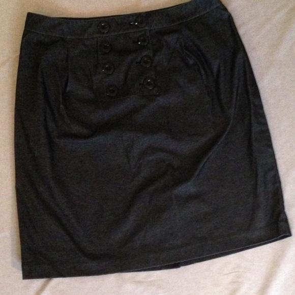 klein size 16 w denim skirt with stretch from