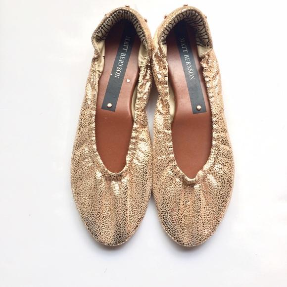 Matt Bernson Shoes - 🎉500k SALE🎉NWOT Matt Bernson Rose Gold Flats