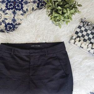ZARA black ankle cropped pants