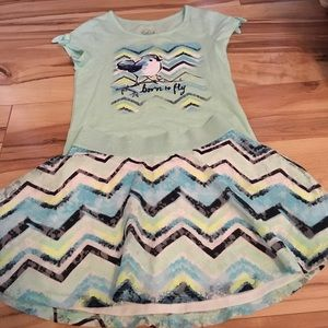 Justice Other - Justice Girls outfit size 8