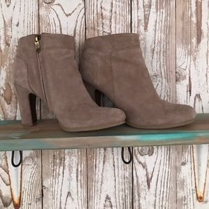 Ann Taylor Shoes - Reg $98 Ann Taylor LOFT Skylar suede booties sz 7