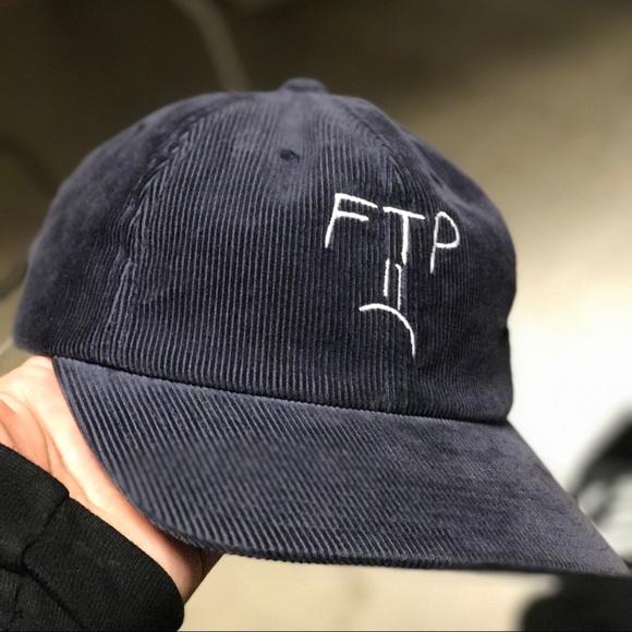 d42ff5b5a FTP x HUF navy blue hat