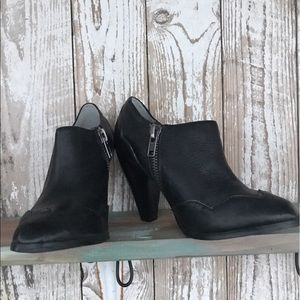 Very Volatile Shoes - Very Volatile real black leather ankle bootie 6.5