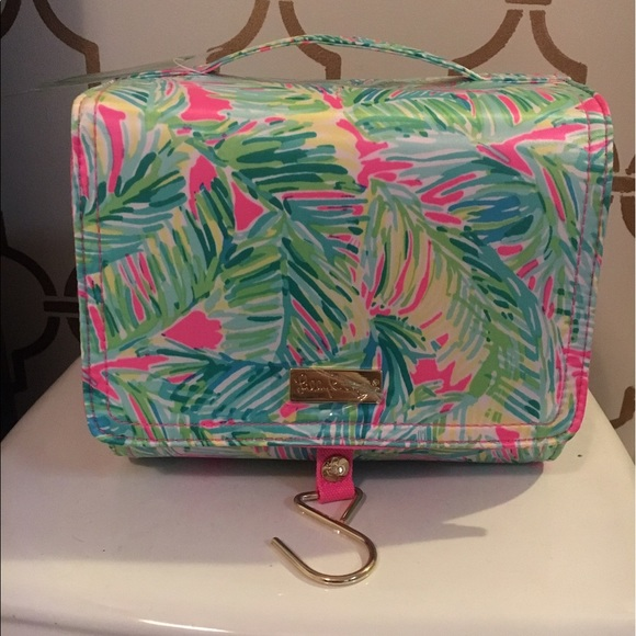 f12ed053c1 Lilly Pulitzer Tropical Storm Travel Cosmetic Bag
