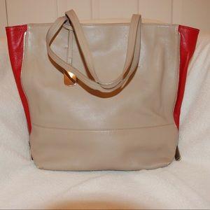 Furla Handbags - Furla two tone handbag
