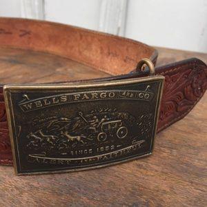 Tiffany & Co. Accessories - Tiffany NY Vintage Wells Fargo belt buckle