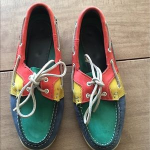 Sebago Shoes - Leather Sebago dockside shoes - size 8.5