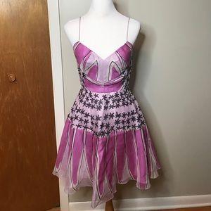 Anna Sui Dresses & Skirts - Anna sui purple runway dress