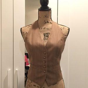 NY Collection Jackets & Blazers - •NY & Co.• Pin Striped Vest
