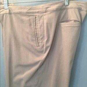 Dress pants straight legs gray sz 16