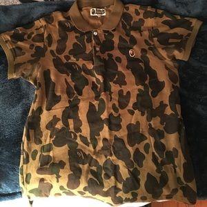 Selling this Bape Camo Tshirt