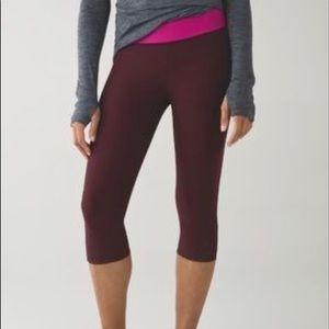 lululemon athletica Pants - Lululemon Tight Stuff Crop Yoga Running Pants NWT