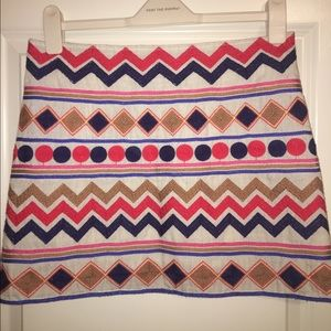Boutique pattern skirt