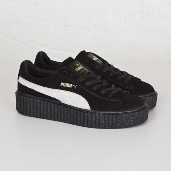 the latest d4d8e f86f0 Puma X Rihanna Fenty Creeper Black & White Size 6 NWT