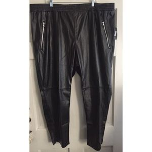 Eloquii Pants - Faux Leather Pants