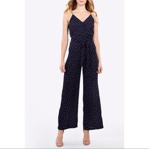 Sugar Lips wide leg printed strappy jumpsuit