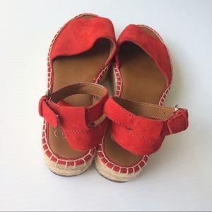 be01d5a10abb Franco Sarto Shoes - Franco Sarto Ravenna Platform Espadrilles 7 Red