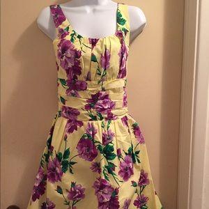 Voodoo Vixen Dresses & Skirts - Voodoo vixen floral print dress.