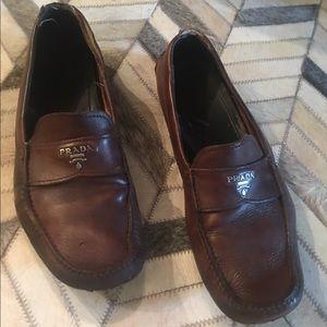 Prada Other - Men's Prada size 10.5 logo loafer driving shoe