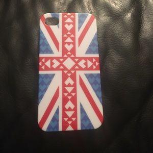 Accessories - British flag iPhone 4 case