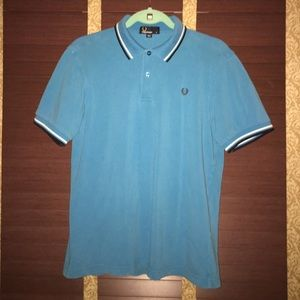 Fred Perry Other - Fred Perry golf polo shirt-blue/white/black tipped