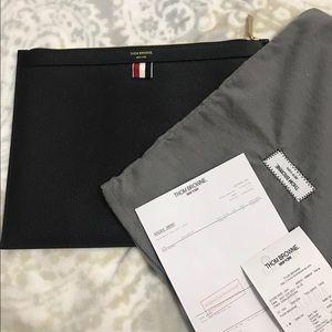 Thom Browne Handbags - Brand New Thom Browne pouch/unisex