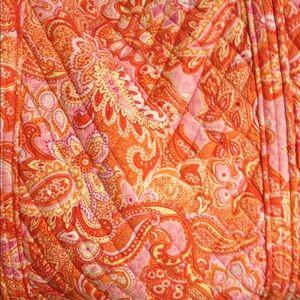 Vera Bradley Bags - Vera Bradley orange sherbet travel bag tote