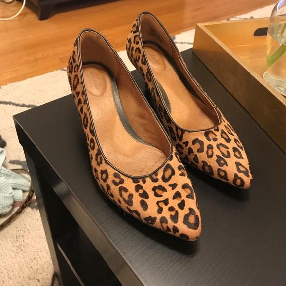 2f677cd1716a Clarks Shoes | Leopard Kitten Heels | Poshmark