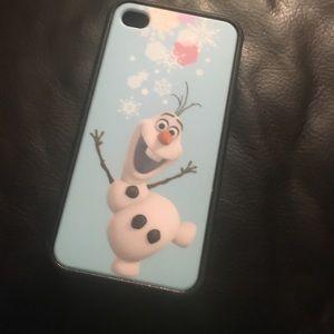 Olaf iPhone 4 case