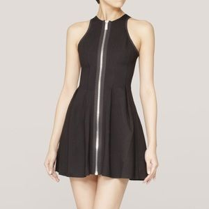 Maje Black Mini Dress