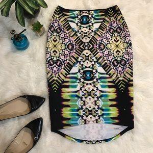 Bisou Bisou Dresses & Skirts - Bisou Bisou scuba skirt