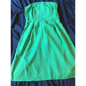 Old Navy strapless linen dress