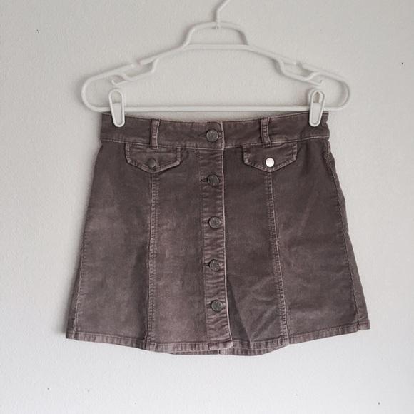 b12294ccc BDG Dresses & Skirts - BDG Purple Corduroy Skirt