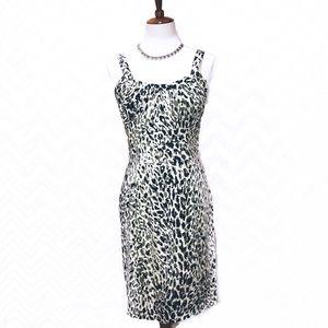 Calvin Klein Cheetah Midi