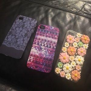 Bundle!!!!! 3 iPhone 4 cases