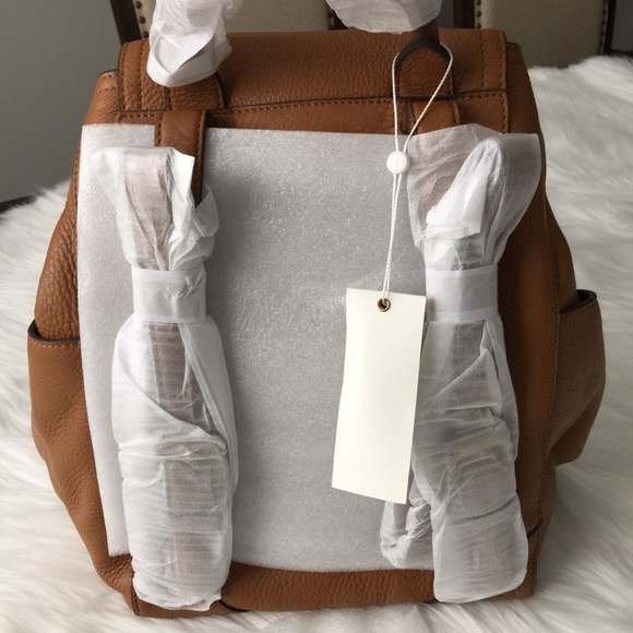 Tory Burch Bags - NWT Tory Burch Frances Backpack Bark