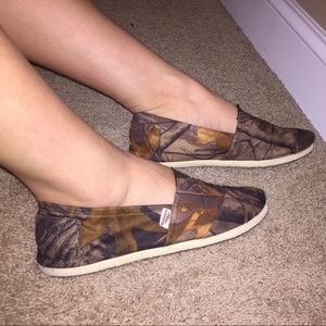 Aloha Island Shoes - Camo Aloha Island Slip on Shoes