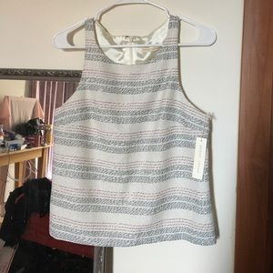 Paper Crown Tops - NWT Paper Crown Striped Tank