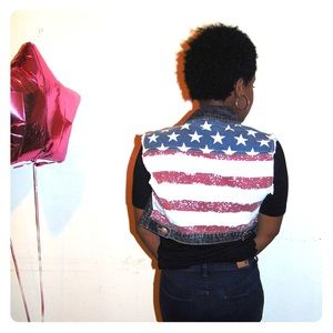American JULY 4th SALE!  Denim VEST 🇺🇸