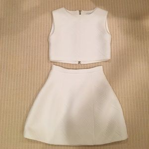 Alexis White Two Piece Set