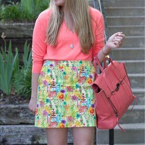 Jcrew x Liberty mini skirt