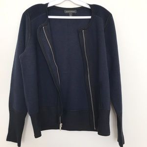 Navy Blue Banana Republic Sweater