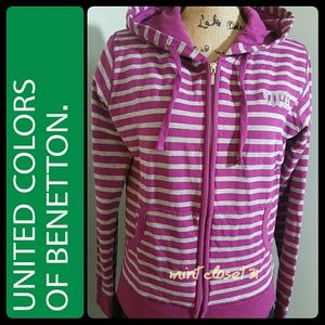 United Colors Of Benetton Tops - United Colors of Benetton Hoodie Top