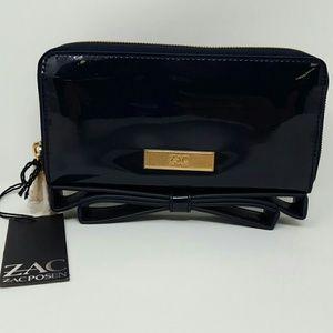 Zac Posen Handbags - Zac Posen Milla Chateau Patent Bow Clutch