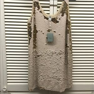 hoss Dresses & Skirts - Loose fitting sequined tank 'party' dress