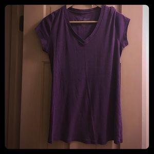Liz Lange Maternity Tops - Liz Lange Maternity Purple T-Shirt EUC
