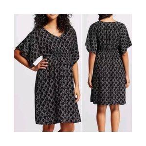 NWT Maternity Print Dress By Liz Lange Geometric