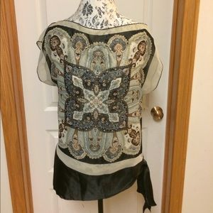HeartSoul Tops - Scarf tunic