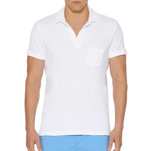 Orlebar Brown Other - TERRY White Towelling Resort Polo