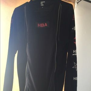 Hood by Air Other - HOOD BY AIR BLACK DOUBLE ZIP LONG SLEEVE